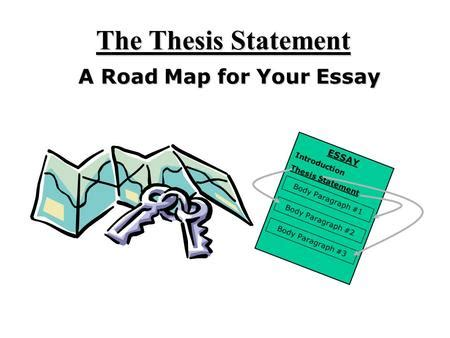 Write three possible thesis statements
